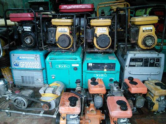 Máy phát điện, máy bơm nước