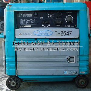 Máy phát hàn Denyo GAW-150ES công suất 2.5kva