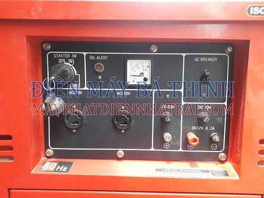 Thông số máy phát điện Diesel Yarmax 6700T