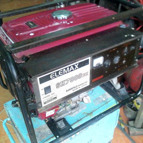 Máy phát điện Elemax SH7000DX công suất 6.6KVA