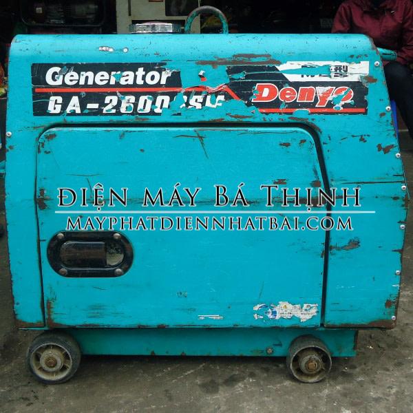 Máy phát điện Denyo GA2600SSM dân dụng