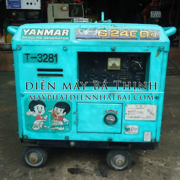 Máy phát điện Yanmar G2400S Nhật bãi