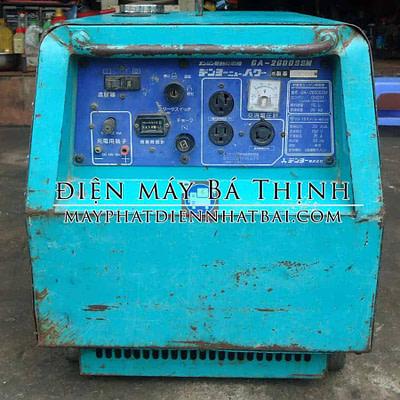 Máy phát điện Denyo GA2600SSM cách âm