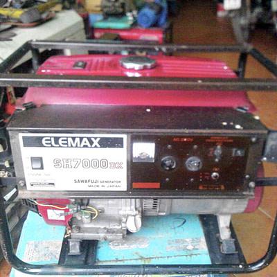 Máy phát điện Elemax SH7000DX cũ
