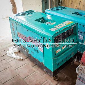 Máy phát điện Denyo 12.5SS chạy dầu