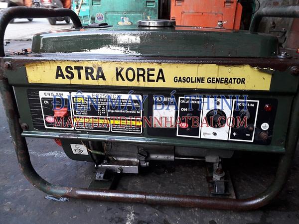 Máy phát điện giá rẻ Astra Korea EC2500CX