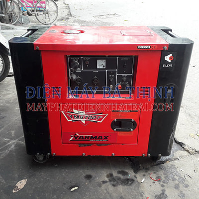 Máy phát điện Diesel Yarmax 6700T cách âm