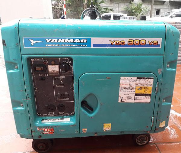 Máy phát điên Nhật bãi Yanmar YDG300VS